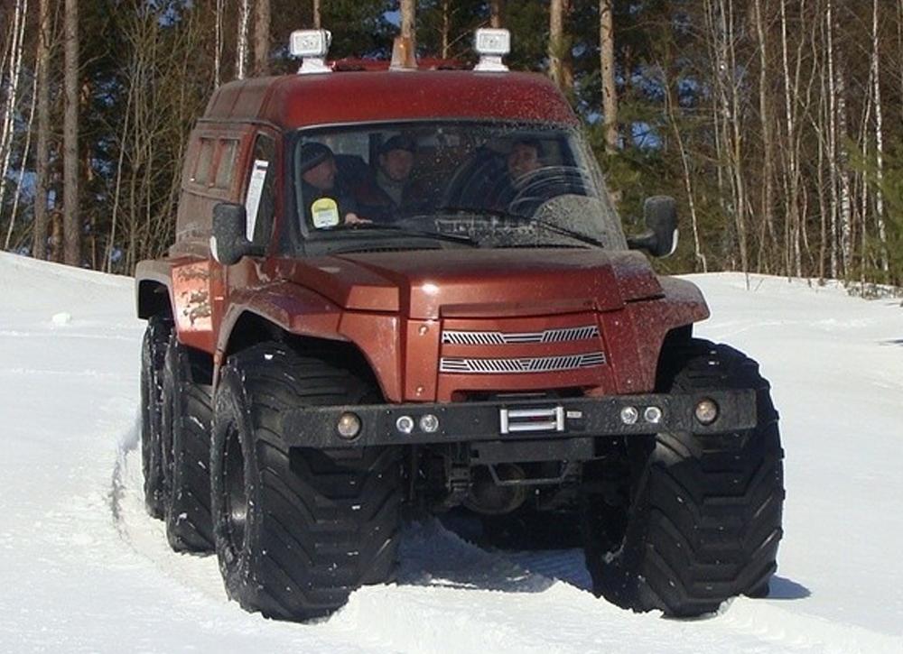 снегоболотоход МАС