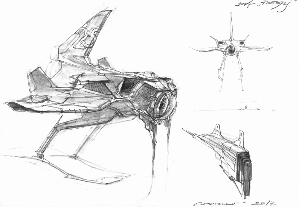 sketch drone