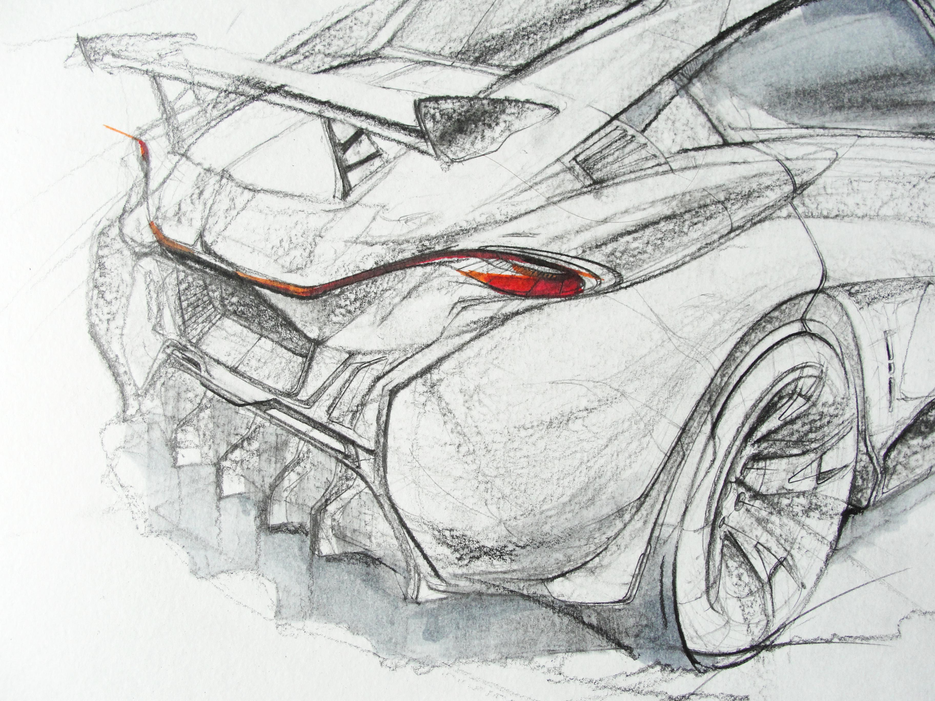 McLaren sketch