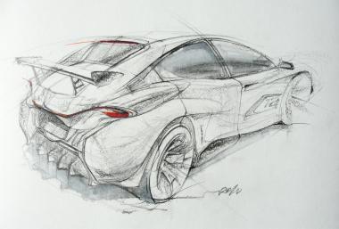 рисование McLaren