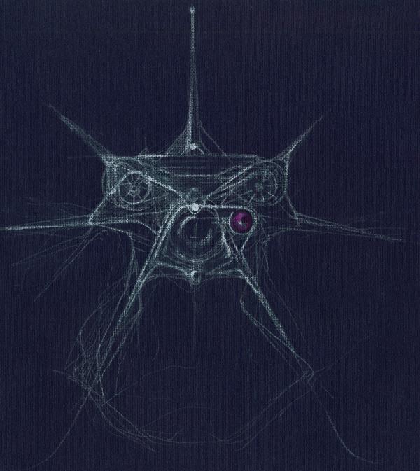 рисунок дрона