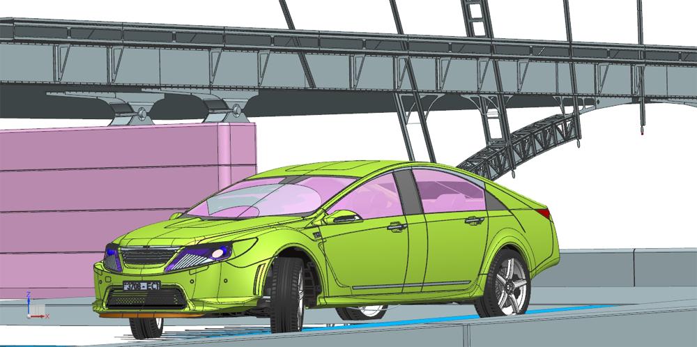 моделирование автомобиля в NX
