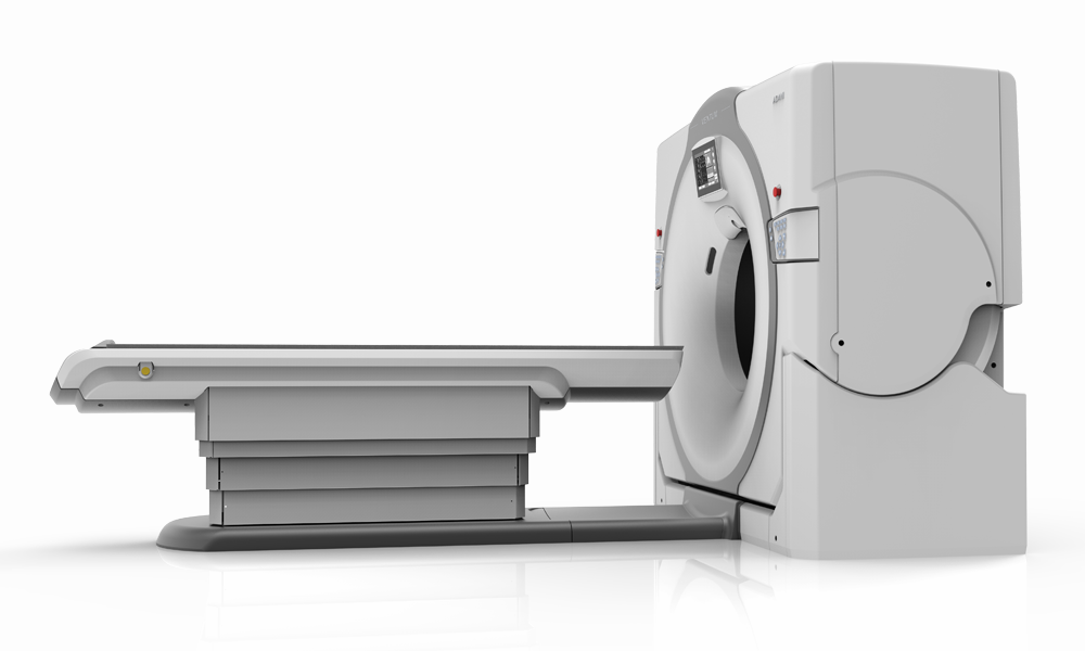 рендеринг компьютерного томографа