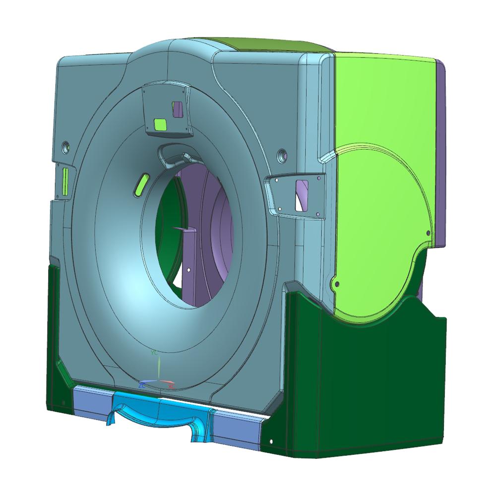 моделирование томографа