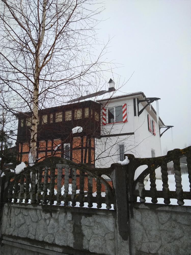 дом с гаргулиями